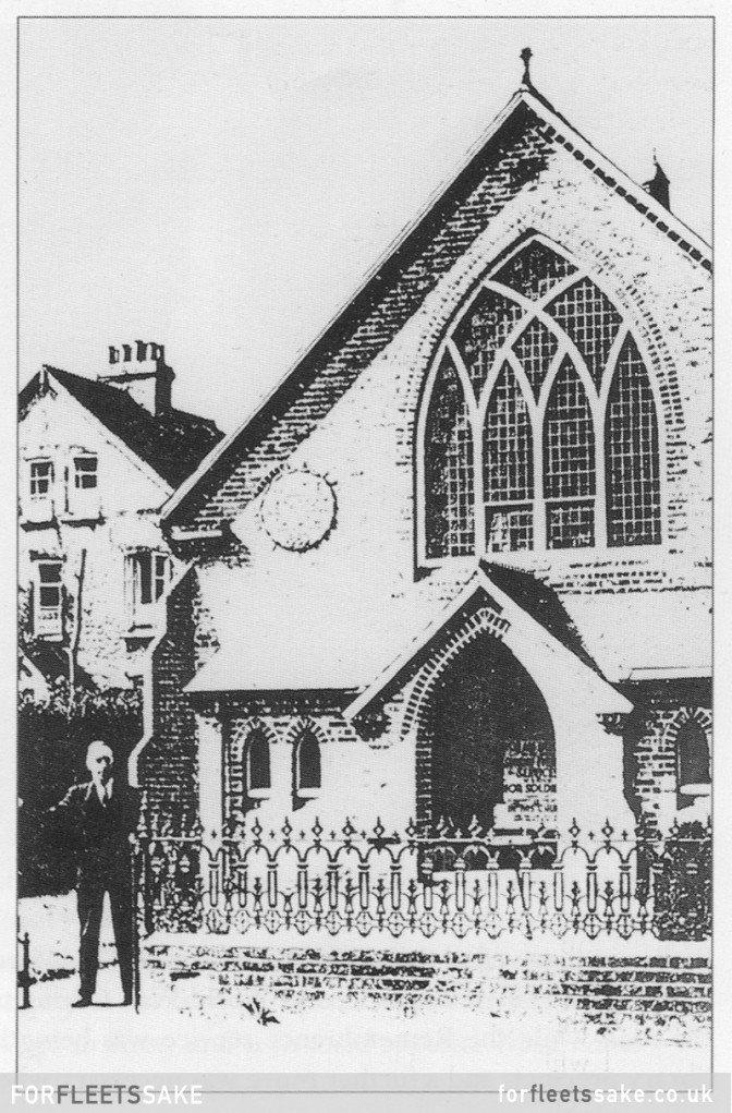 History of Fleet Hampshire PRIMITIVE METHODIST CHAPEL 1901