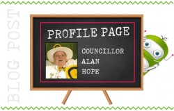 Profile Page - Councillor Alan Hope, Fleet Hampshire