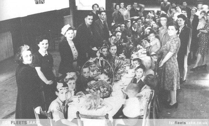 VE DAY - 8TH MAY 1945 - FLEET HANTS